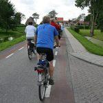 fietsen door de polder